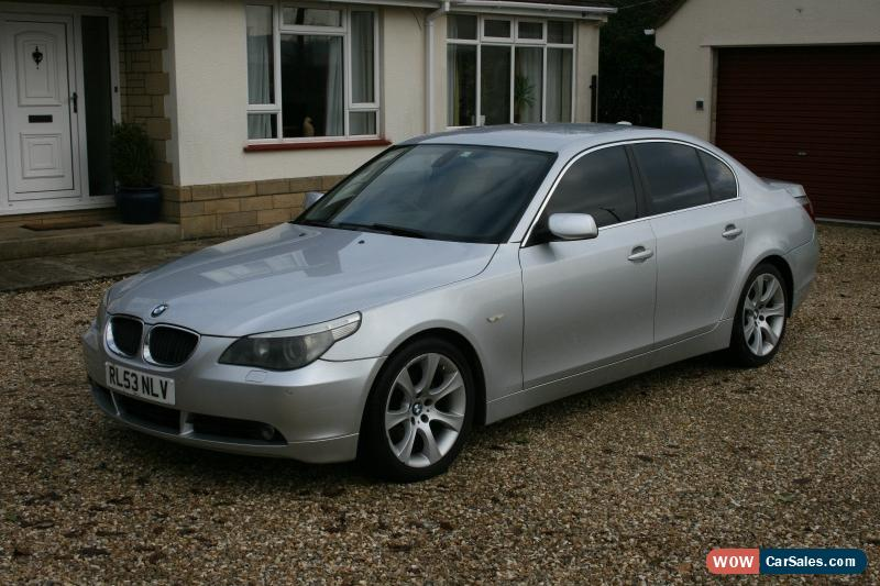 2004 bmw 530d se auto for sale in united kingdom. Black Bedroom Furniture Sets. Home Design Ideas