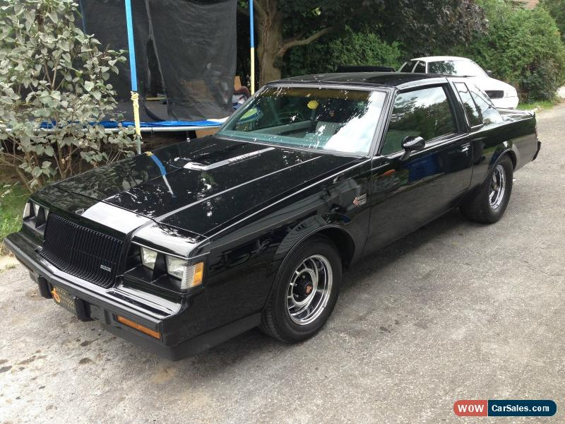1987 Buick Grand National For Sale In Canada