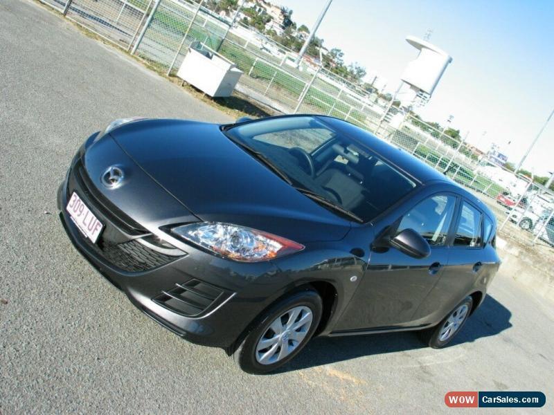 mazda 3 2009 hatchback manual