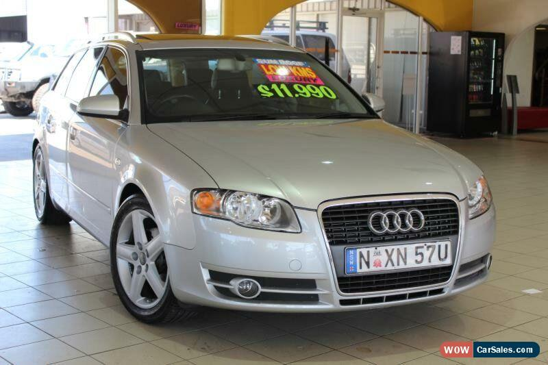audi a4 for sale in australia. Black Bedroom Furniture Sets. Home Design Ideas