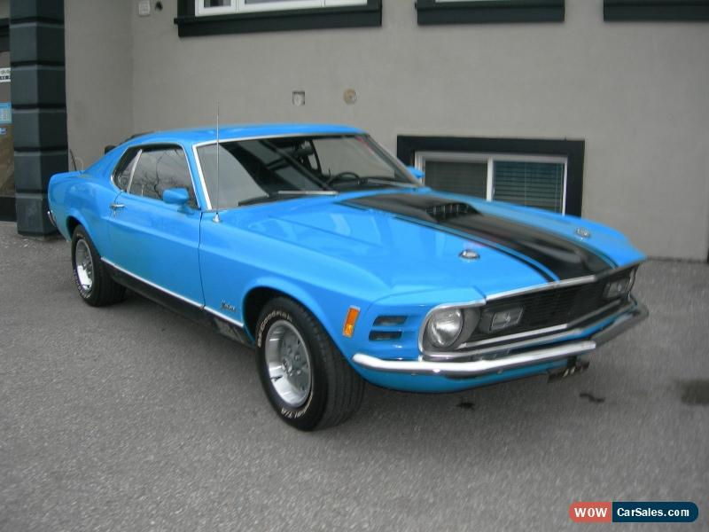 Used Tires Oshawa >> 1970 Ford Mustang for Sale in Canada