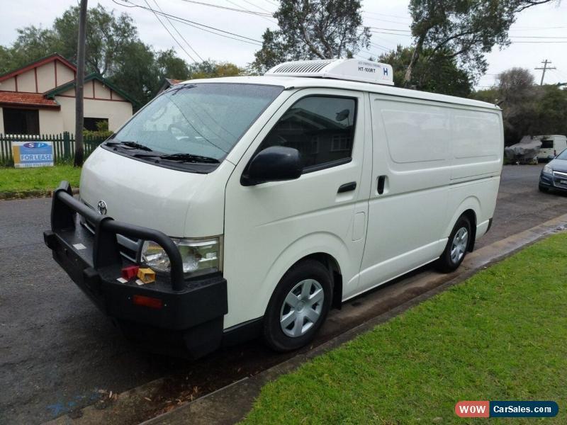 37c8d831290e29 ... Classic 2012 Toyota Hiace LWB Freezer   Refrigerated Manual 5sp M Van  for Sale