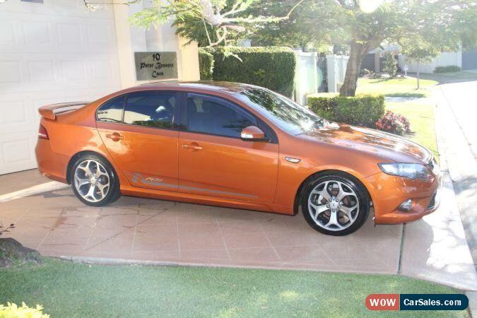 2010 Ford Falcon FG XR6 50th Anniversary Sunburst Orange Automatic 6sp A  Sedan