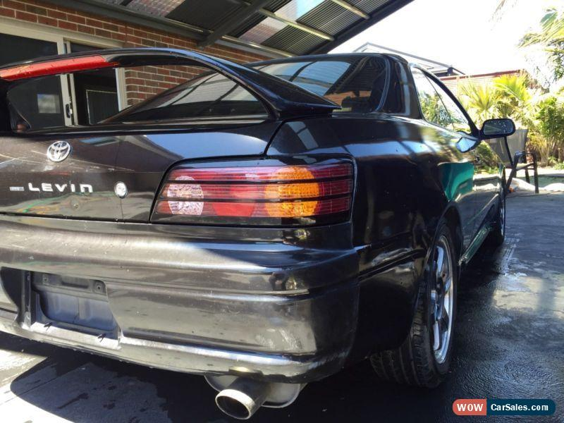 1997 Toyota Corolla Levin BZ-R AE111 Coupe SuperStrut 6 Speed LSD