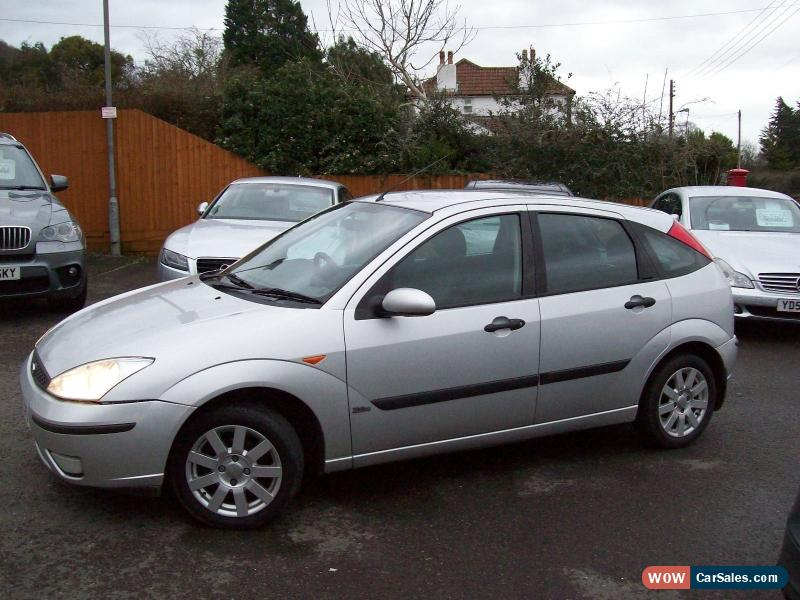 2002 ford focus zetec td di for sale in united kingdom. Black Bedroom Furniture Sets. Home Design Ideas