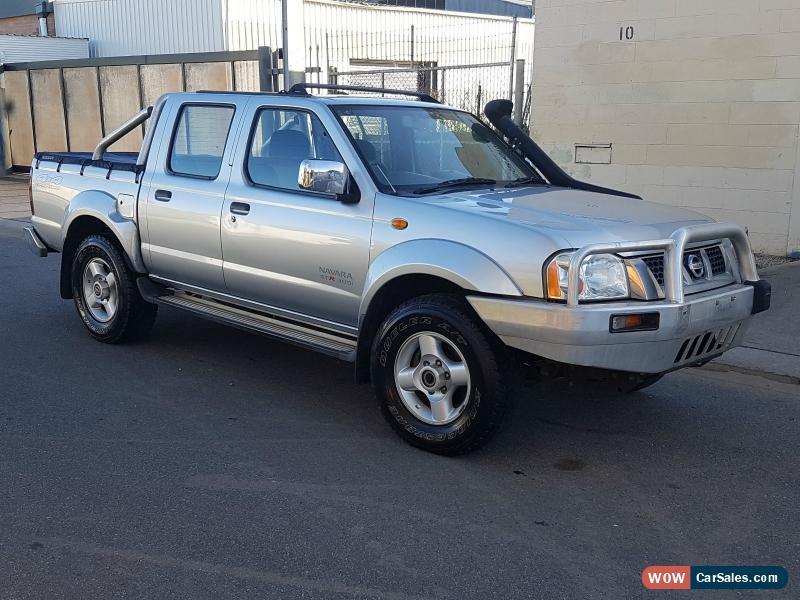 2006 NISSAN NAVARA D22 DUAL CAB 4X4 ST-R 3 0L TURBO DIESEL M LIGHT DAMAGE  DRIVES