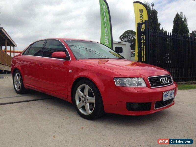 Audi A For Sale In Australia - Audi a4 2004 for sale