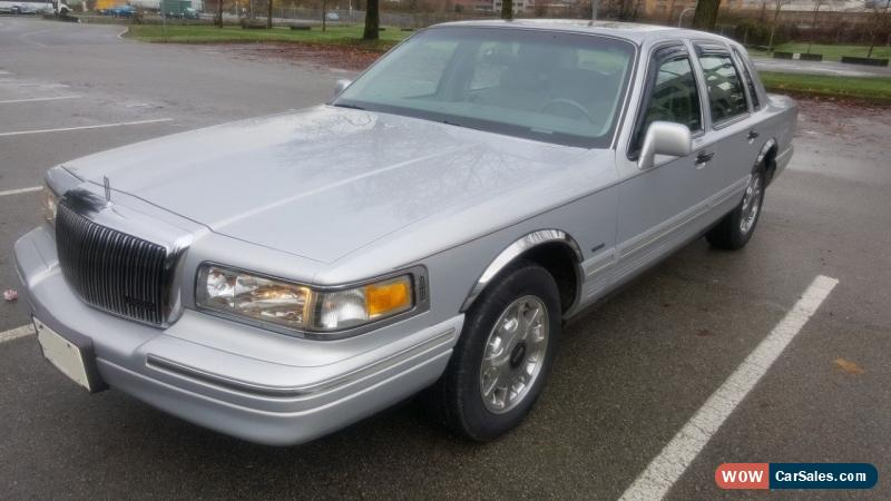 1997 Lincoln Town Car For Sale In Canada