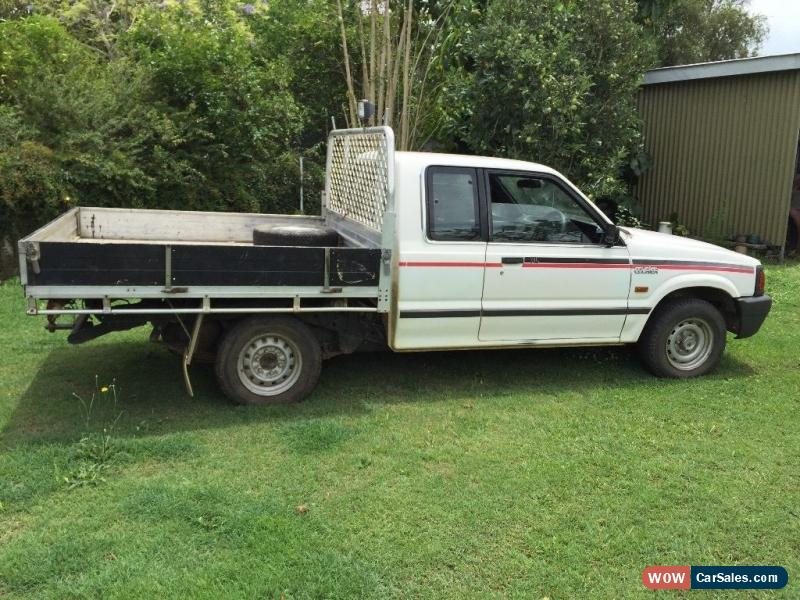 Ford Courier XL (1997) Super Cab P/Up 5 SP Manual (2 6L - Electronic F/INJ)