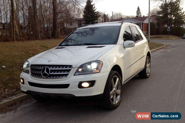 2008 mercedes benz m class for sale in canada. Black Bedroom Furniture Sets. Home Design Ideas