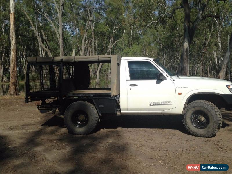 Classic Nissan Patrol Ute with Canopy u0026 Dog Cage(s) for Sale & Nissan Ute for Sale in Australia