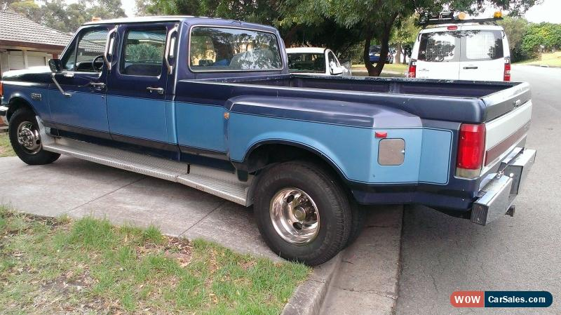 classic 1987 ford f350 crew cab dually 2 owner no rust ever for sale. Cars Review. Best American Auto & Cars Review