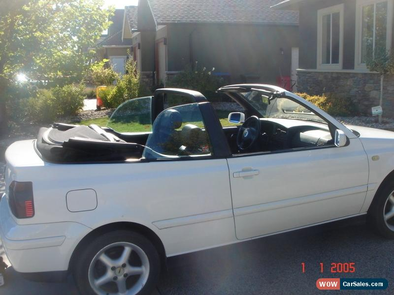 2000 Volkswagen Cabrio for Sale in Canada