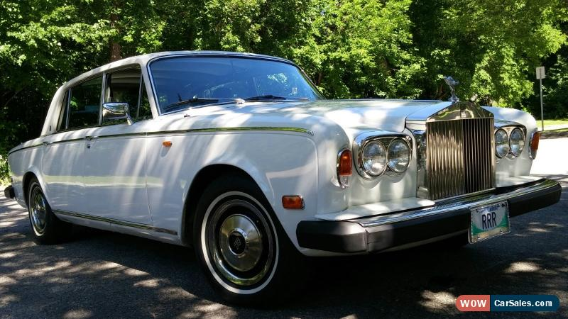 1980 rolls royce silver wraith ii for sale in canada. Black Bedroom Furniture Sets. Home Design Ideas