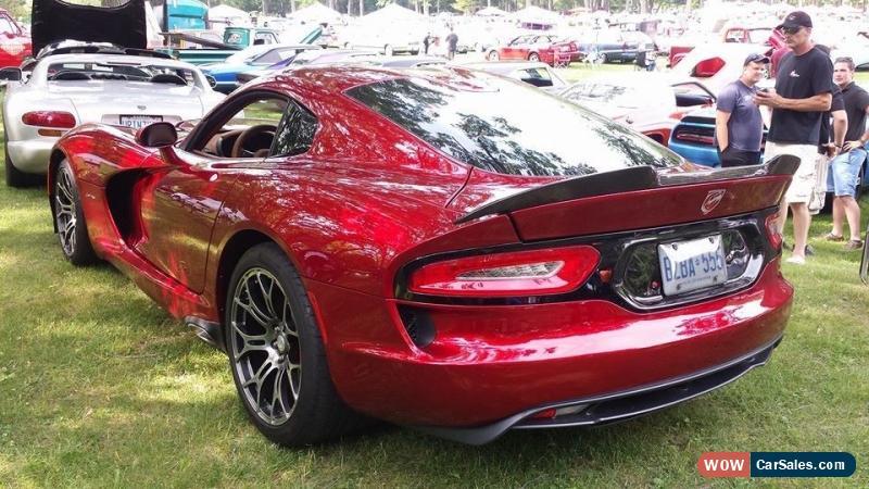 Viper Gts For Sale >> 2014 Dodge Viper For Sale In Canada