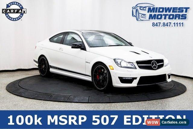 Classic 2015 Mercedes Benz C Class Base Coupe 2 Door For Sale