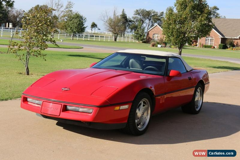 classic 1989 chevrolet corvette base 2 door convertible for sale. Cars Review. Best American Auto & Cars Review