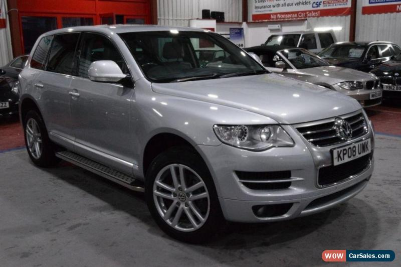 2008 volkswagen touareg for sale in united kingdom. Black Bedroom Furniture Sets. Home Design Ideas