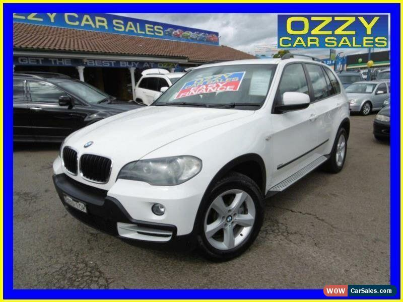 2007 Bmw X5 E70 3 0d Executive White Automatic 6sp A Wagon