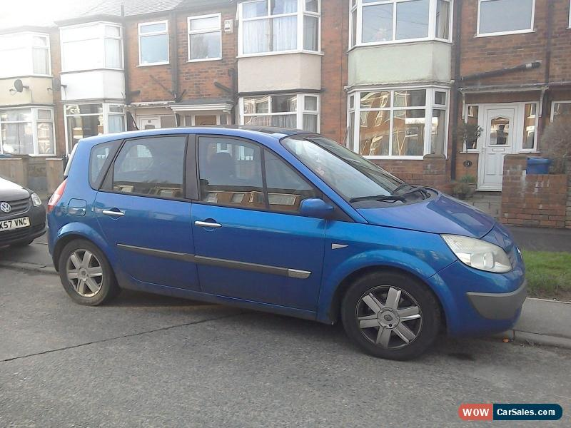 2004 renault scenic dynamique dci 120 for sale in united kingdom. Black Bedroom Furniture Sets. Home Design Ideas