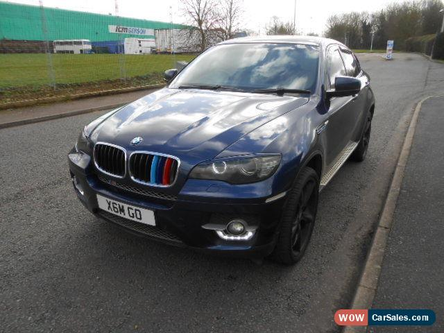 2009 bmw x6 3 0 x drive for sale in united kingdom. Black Bedroom Furniture Sets. Home Design Ideas