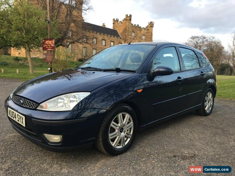 2004 ford focus ghia tdci for sale in united kingdom. Black Bedroom Furniture Sets. Home Design Ideas