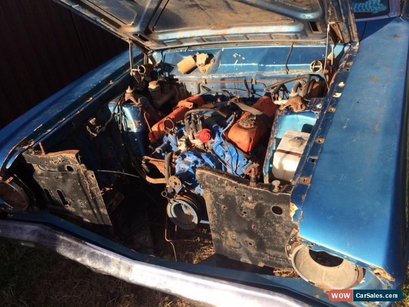 FORD 1968 XT SEDAN, UNFINISHED PROJECT for Sale in Australia