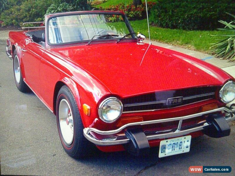 1974 Triumph TR-6 for Sale in Canada