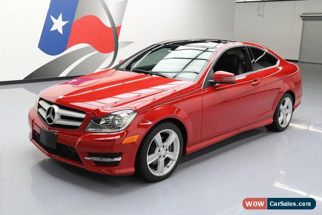2013 mercedes benz c class for sale in united states. Black Bedroom Furniture Sets. Home Design Ideas
