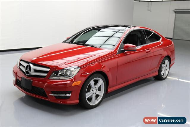 2013 Mercedes Benz C Class For Sale In United States