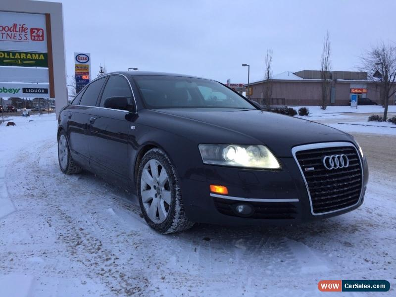 2005 audi a6 for sale in canada. Black Bedroom Furniture Sets. Home Design Ideas