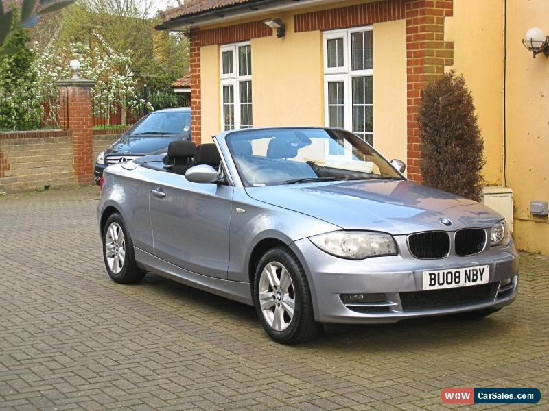 2008 bmw 118i se for sale in united kingdom. Black Bedroom Furniture Sets. Home Design Ideas