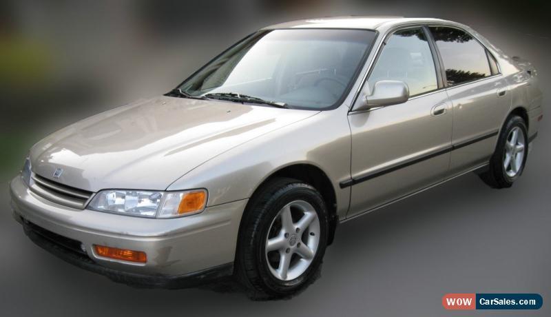Elegant Classic 1995 Honda Accord EX For Sale