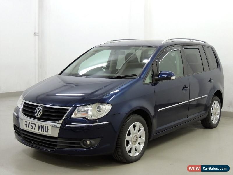 2007 volkswagen touran for sale in united kingdom. Black Bedroom Furniture Sets. Home Design Ideas