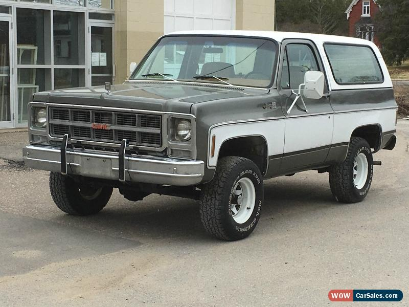 1979 Gmc Jimmy For Sale In Canada