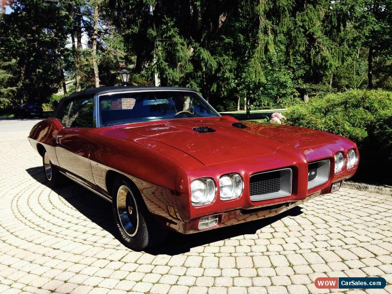 1970 Pontiac Gto For Sale In Canada