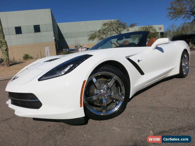 Classic 2014 Chevrolet Corvette Stingray Convertible 2LT For Sale
