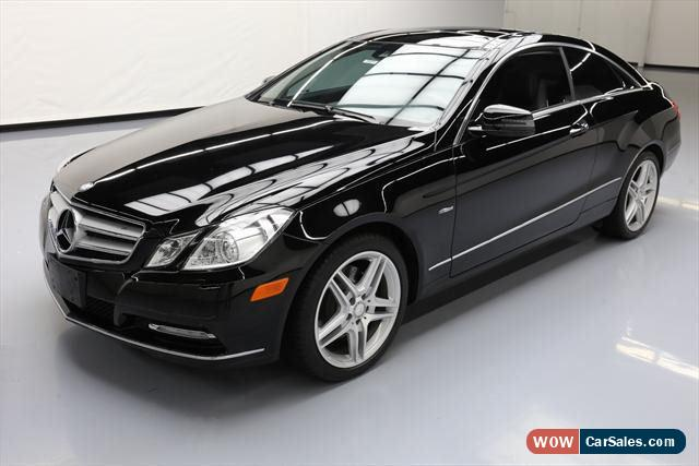 2012 mercedes benz e class for sale in united states for Mercedes benz 2 door coupe for sale