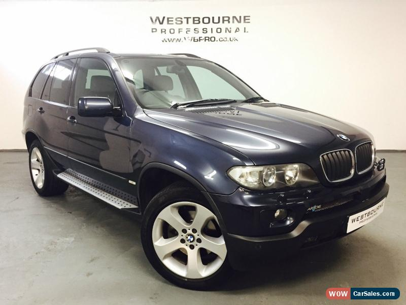 2005 bmw x5 sport d auto for sale in united kingdom. Black Bedroom Furniture Sets. Home Design Ideas