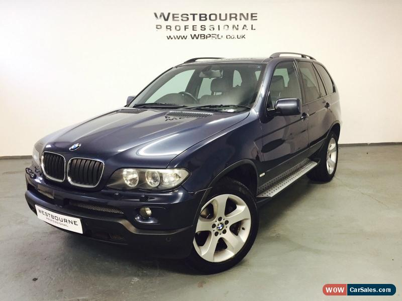 Bmw X Sport Diesel Automatic With Tow Bar Ball