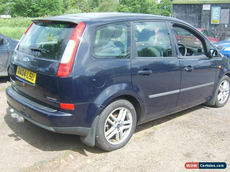 2004 ford focus c max zetec for sale in united kingdom. Black Bedroom Furniture Sets. Home Design Ideas
