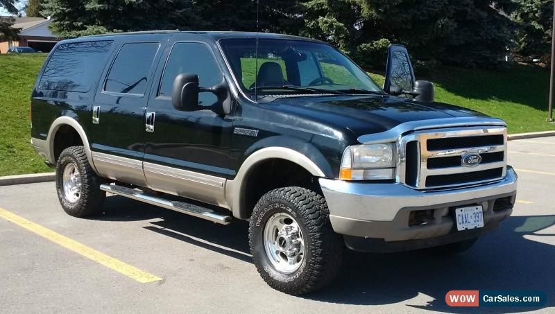 2002 Ford Excursion For Sale In Canada