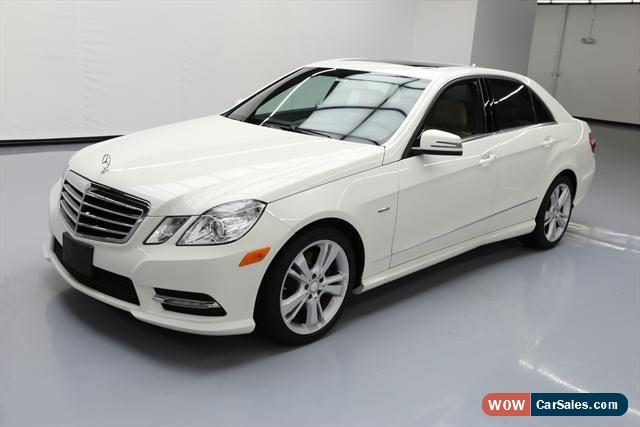 2012 mercedes benz e class for sale in united states for 2012 mercedes benz e350 for sale