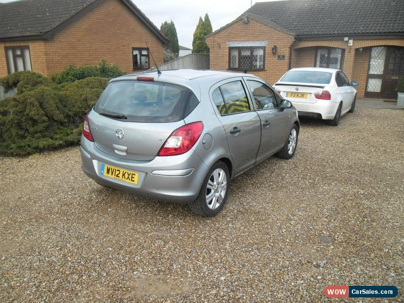2012 vauxhall corsa s ac for sale in united kingdom. Black Bedroom Furniture Sets. Home Design Ideas