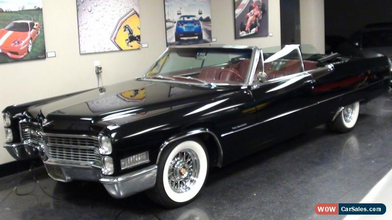 1966 Cadillac DeVille for Sale in Canada