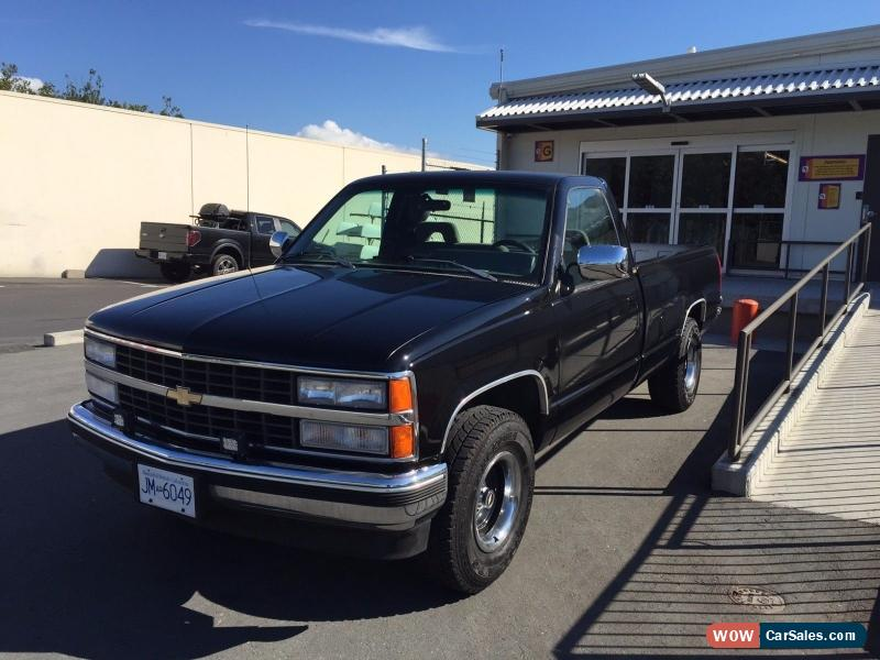 1993 chevrolet silverado 1500 for sale in canada. Black Bedroom Furniture Sets. Home Design Ideas