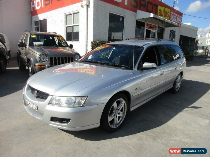 2005 Holden Commodore VZ Equipe Silver Automatic 4sp A Wagon