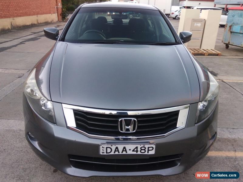 Honda accord for sale in australia for Honda accord 4 cylinder