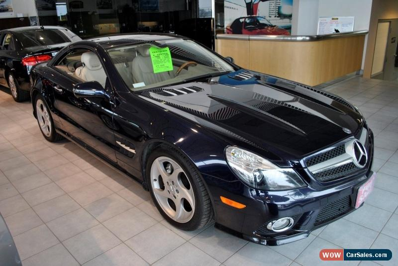 2009 mercedes benz sl class for sale in canada. Black Bedroom Furniture Sets. Home Design Ideas