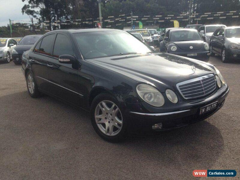 mercedes benz e320 for sale in australia. Black Bedroom Furniture Sets. Home Design Ideas